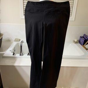 Lululemon Vintage Groove Pants 🍋 Black 🍋 Size 12